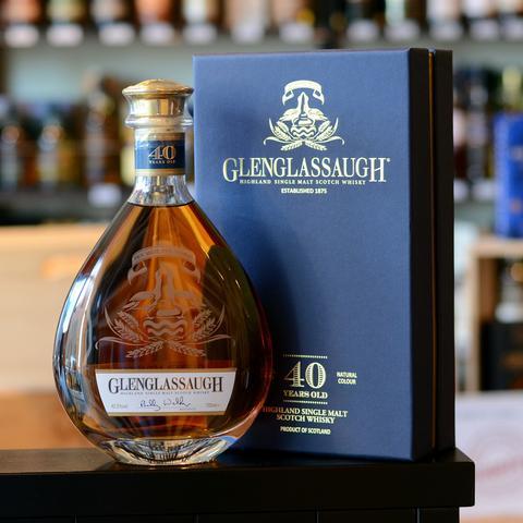 giá rượu Glenglassaugh 40 năm