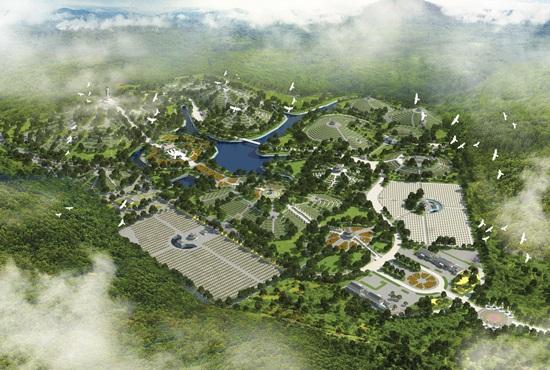 Dự án siêu công viên nghĩa trang tại Hà Nội