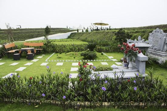 khuông viên đất nghĩa trang mộ gia tộc