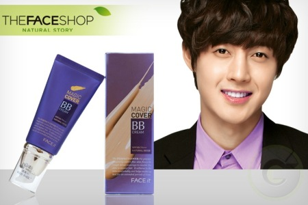 BB CREAM MAGIC COVER THE FACE SHOP