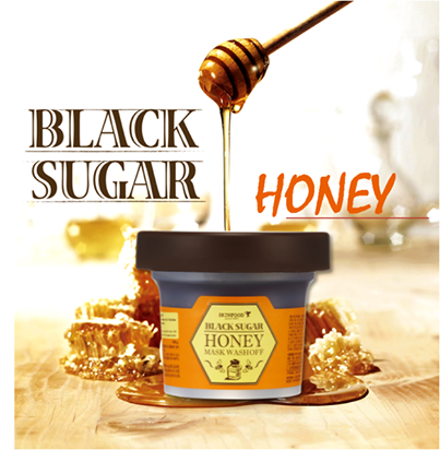 Black Sugar Honey Mask Wash Off - Skinfood