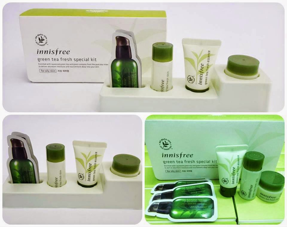 Innisfree Green tea fresh special kit