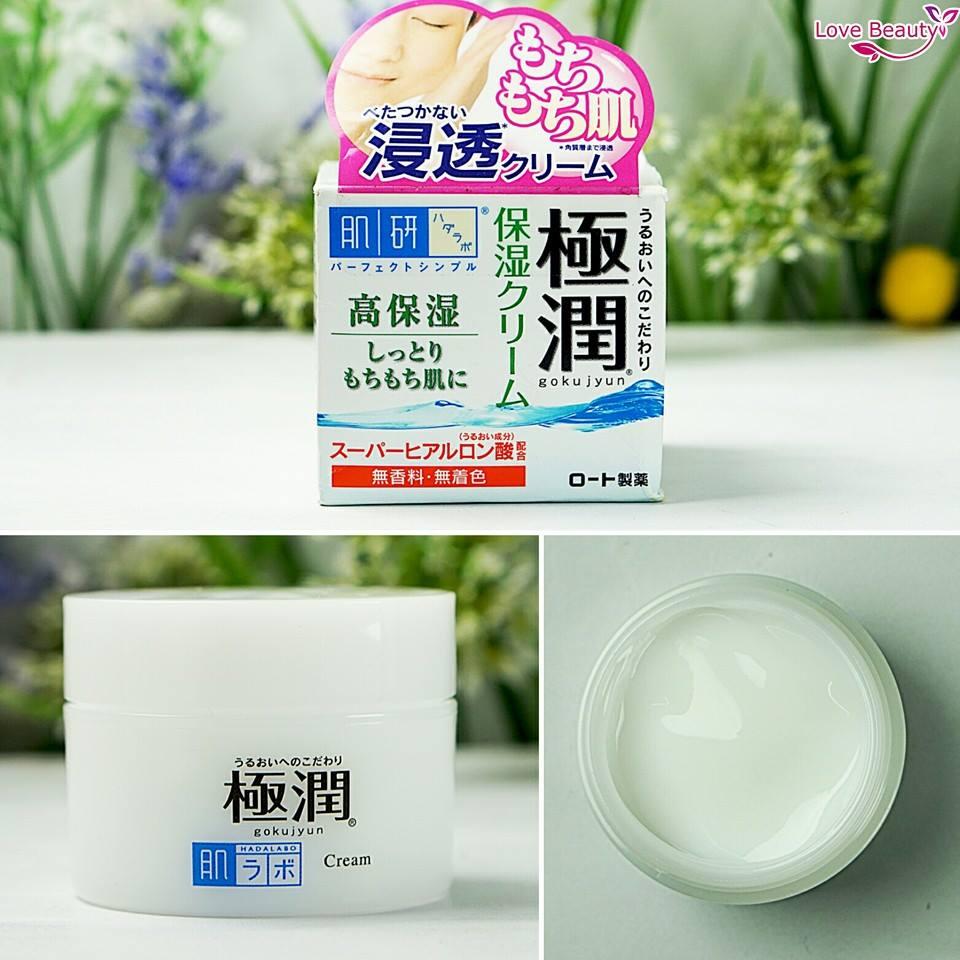 Kem Hadalabo Gokujyun Hyaluronic Acid Cream