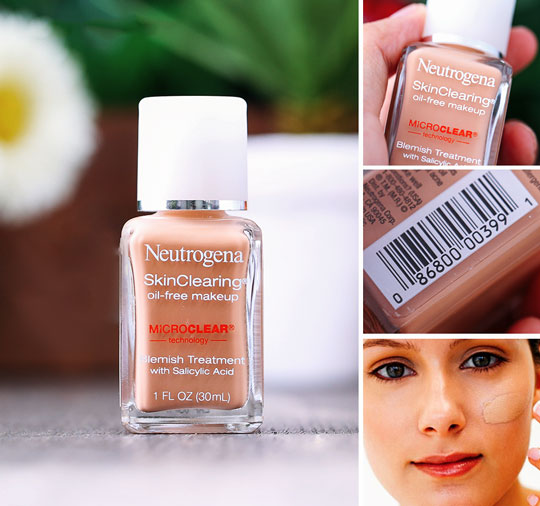 Kem Nền neutrogenal Skin Clearing Oil Free Makeup