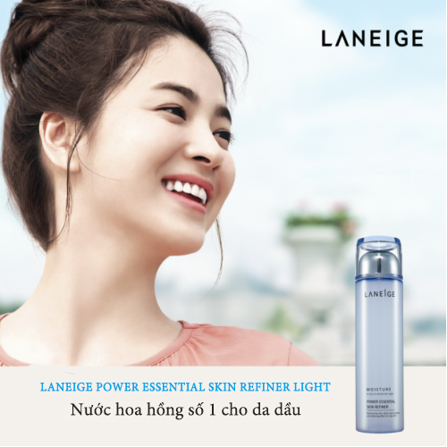 Nước hoa hồng Laneige Power Essential Skin Refiner Light