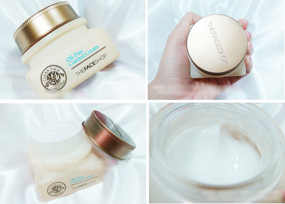 Oil Free Control Cream - The Face Shop