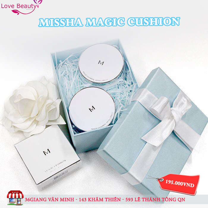 Phấn nước missha magic cushion