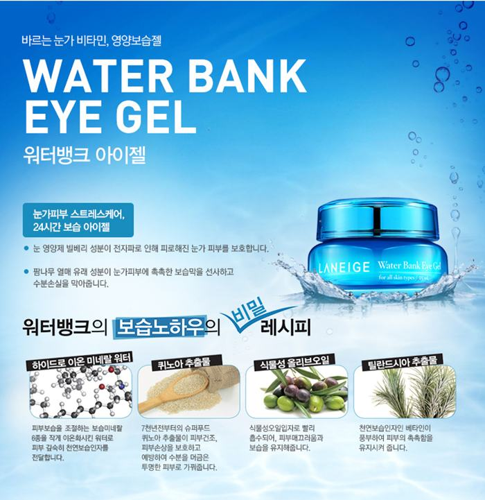 Water bank eye gel laneige