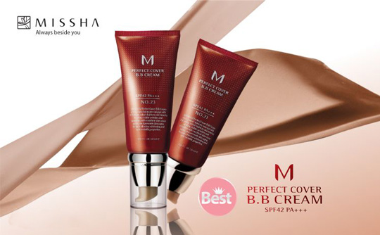 bb cream missha perfect cover