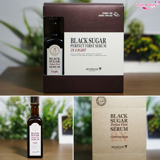 Black Sugar Perfect First Serum x2light
