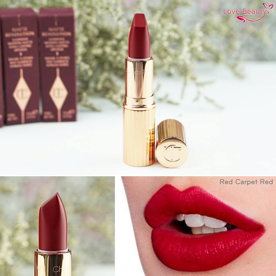 charlotte tilbury red carpet red