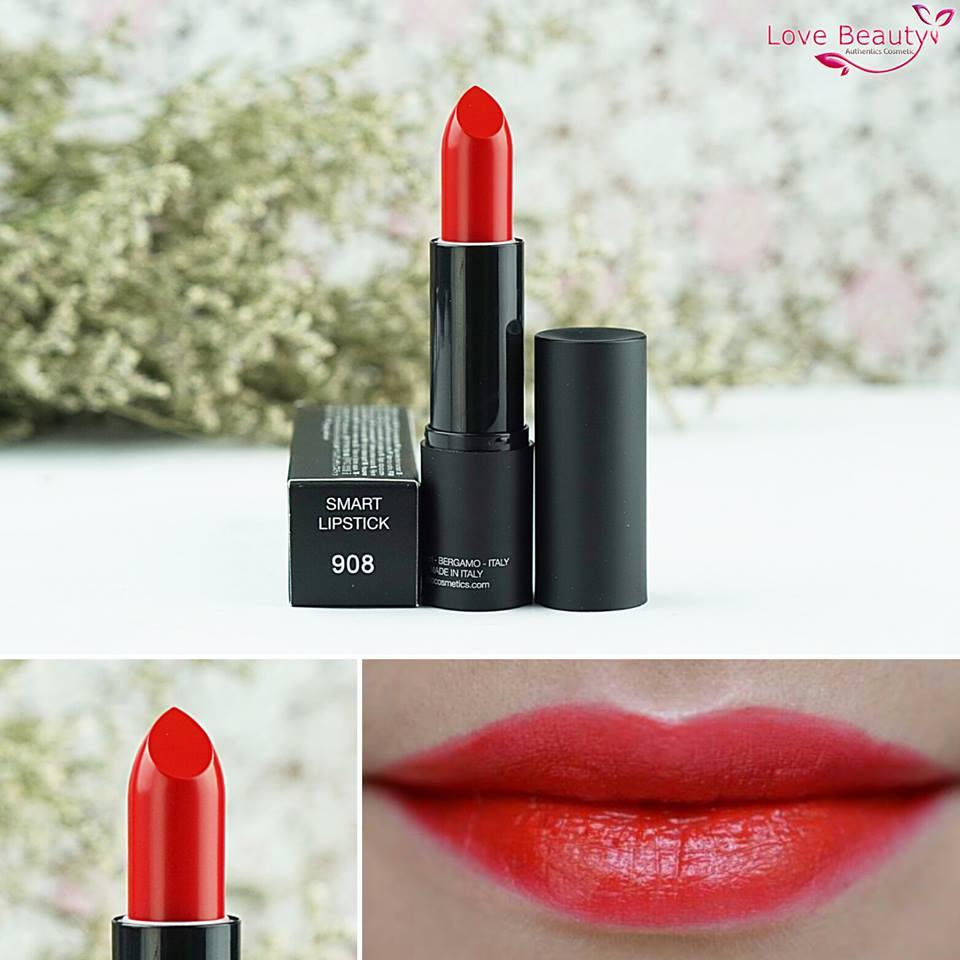kiko smart lipstick 908
