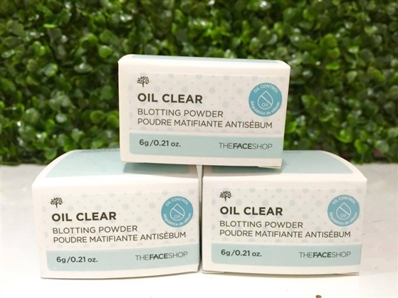 Phấn bột kiềm dầu Oil Clear Blotting Powder