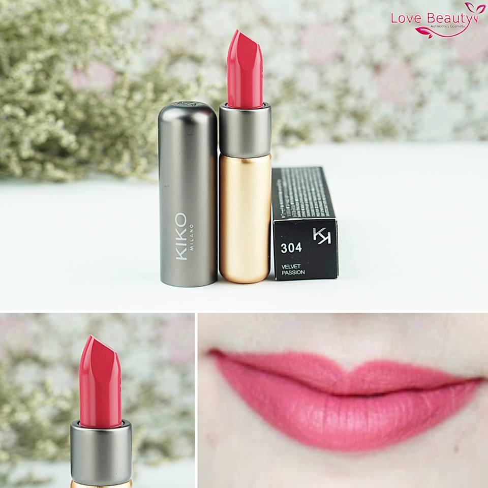 Son Kiko Velvelt Passion Matte Lipstick 304
