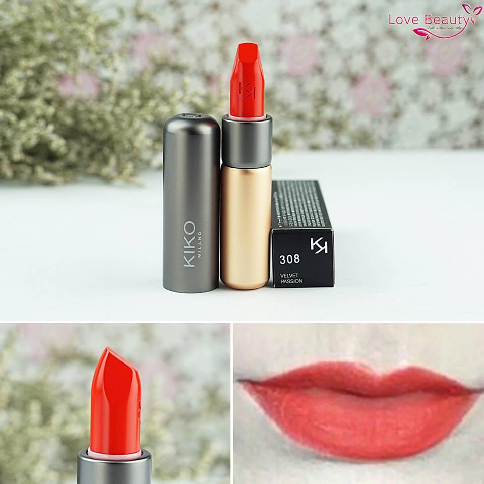 Son Kiko Velvelt Passion Matte Lipstick 308