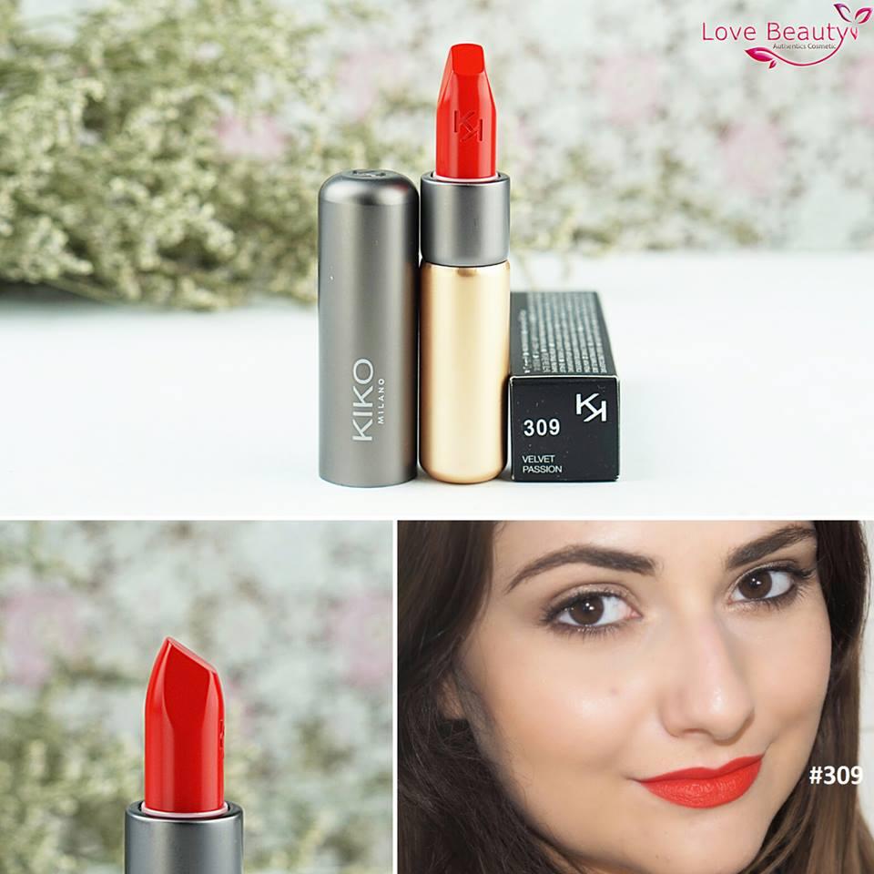 Son Kiko Velvelt Passion Matte Lipstick 309