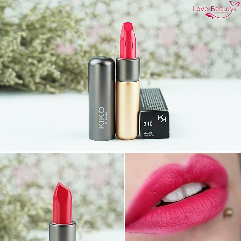 Son Kiko Velvelt Passion Matte Lipstick 310