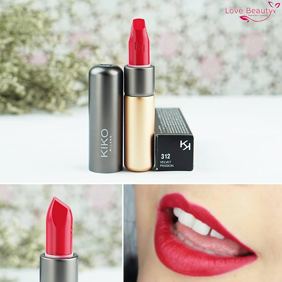 Son Kiko Velvelt Passion Matte Lipstick 312