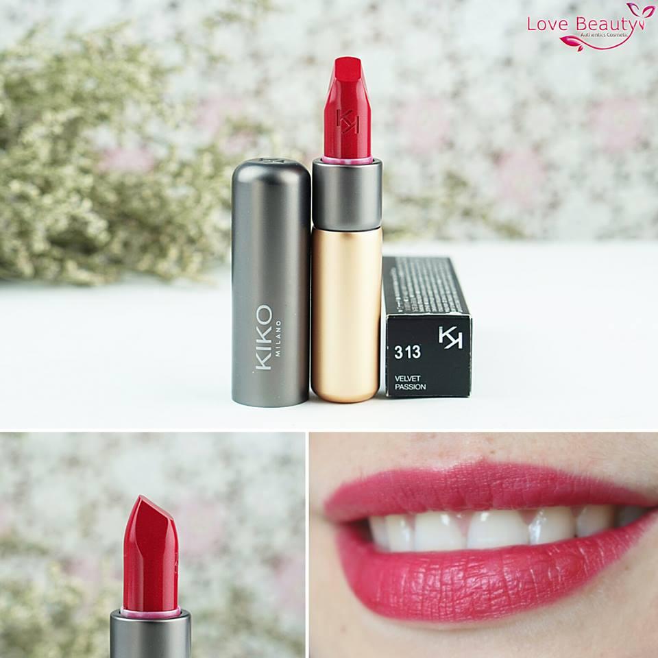 Son Kiko Velvelt Passion Matte Lipstick 313
