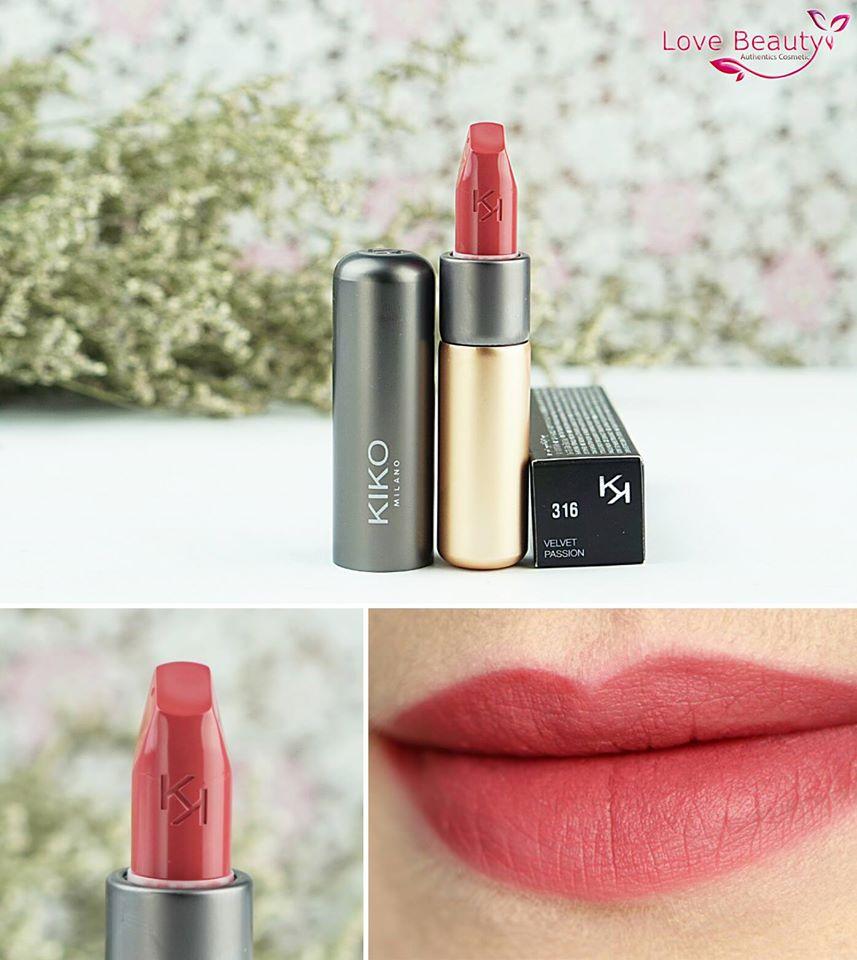 Son Kiko Velvelt Passion Matte Lipstick 316