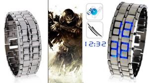 Đồng hồ led iron samurai