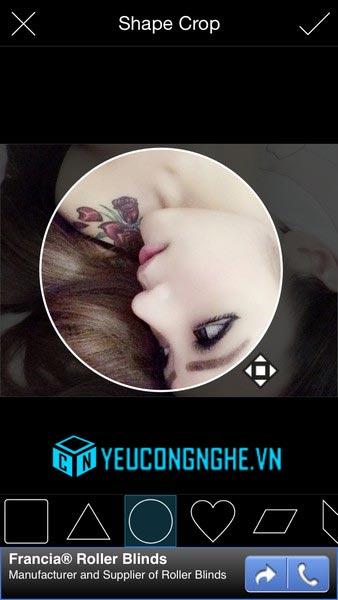Chèn ảnh vào màn hình khóa iPhone, iPad với PicsArt Photo Studio - 20371