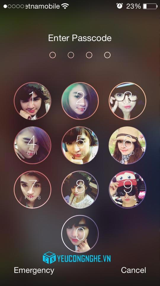 Chèn ảnh vào màn hình khóa iPhone, iPad với PicsArt Photo Studio - 20380