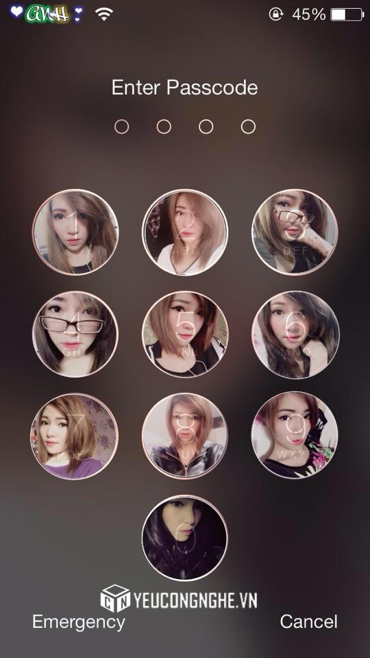 Chèn ảnh vào màn hình khóa iPhone, iPad với PicsArt Photo Studio - 20382