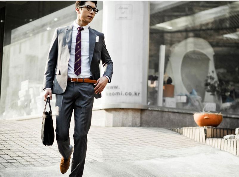 Thắt lưng nam hợp màu giày nam