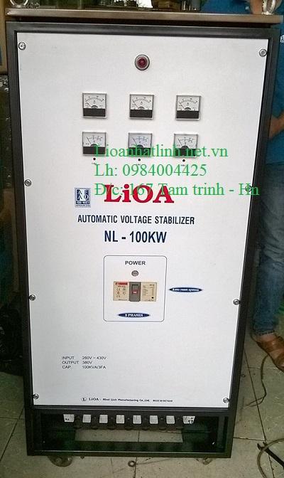 ỔN ÁP LIOA NL - 100KW 3 PHA CŨ