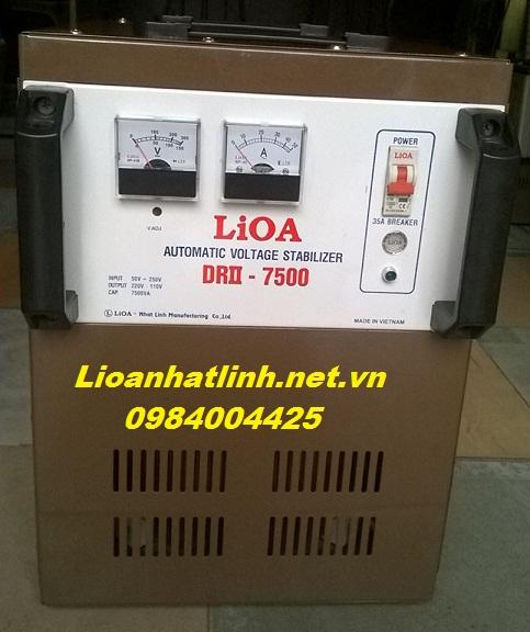 ỔN ÁP LIOA 7,5kva( drii-7500)
