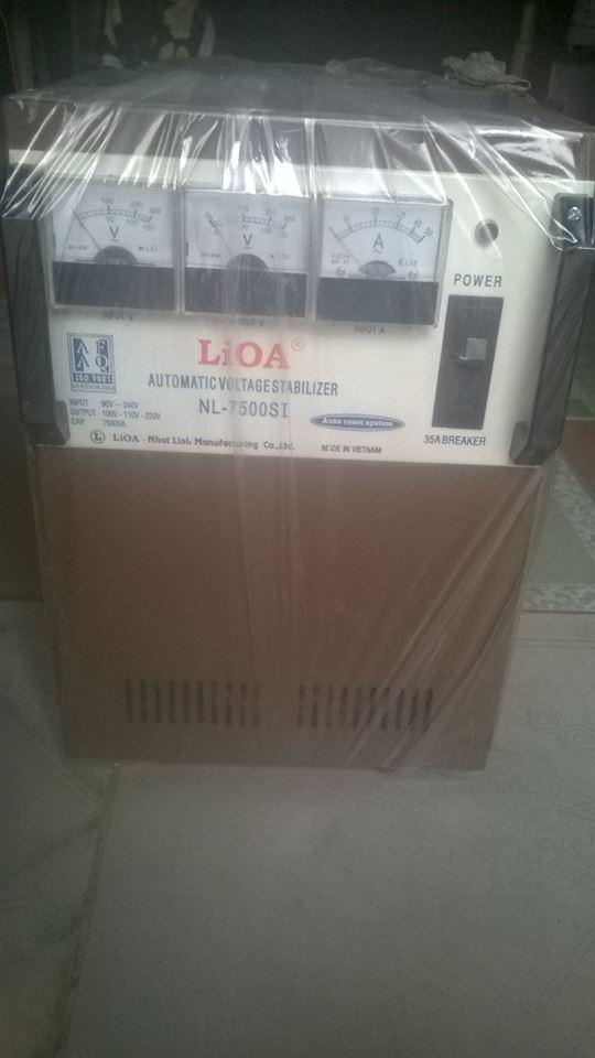 ỔN ÁP LIOA 7,5KVA MODEL NL - 7500SI TỒN KHO