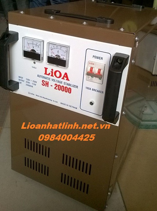 ổn áp lioa sh - 20000