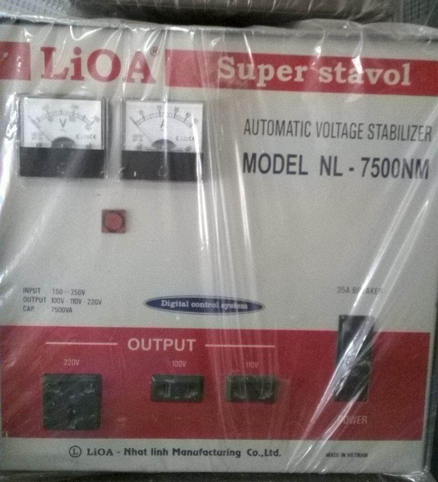ỔN ÁP LIOA 7KW CŨ DẢI 150V - 250V
