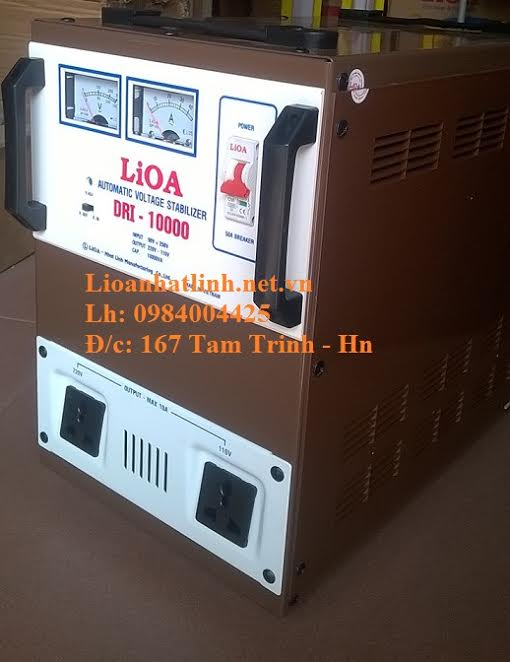 ỔN ÁP LIOA DRI -10000 MỚI NHẤT 2016