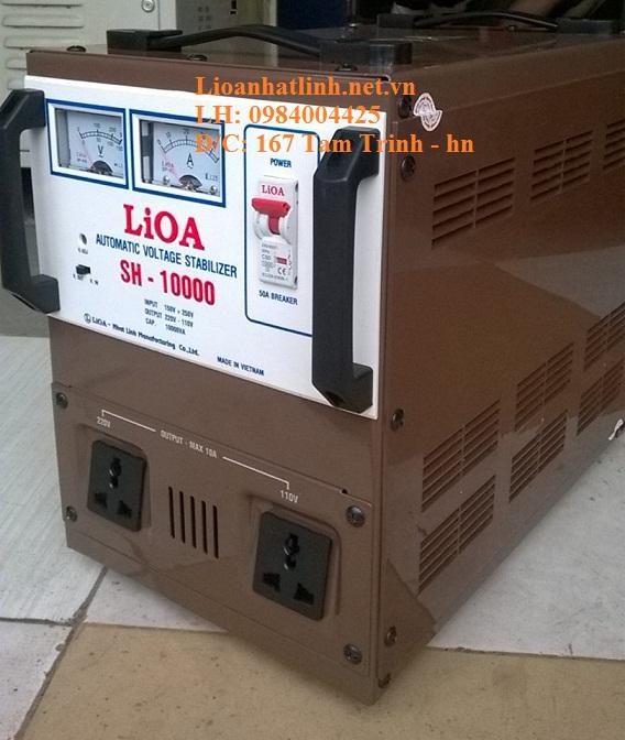 ỔN ÁP LIOA SH-10000 MỚI NHẤT 2016