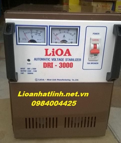 HÌNH ẢNH ỔN ÁP LIOA 3KVA MODEL DRI - 3000 MỚI NHẤT