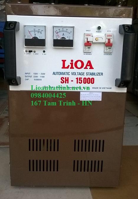 ỔN ÁP LIOA 15KVA ( SH - 15000) NĂM 2016