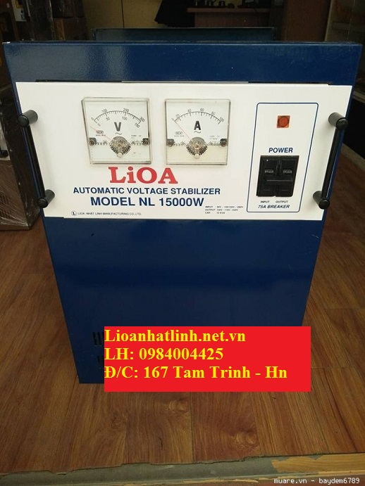ổn áp lioa nl - 15000w cũ