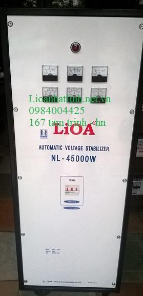 ổn áp lioa nl - 45000w 3 pha