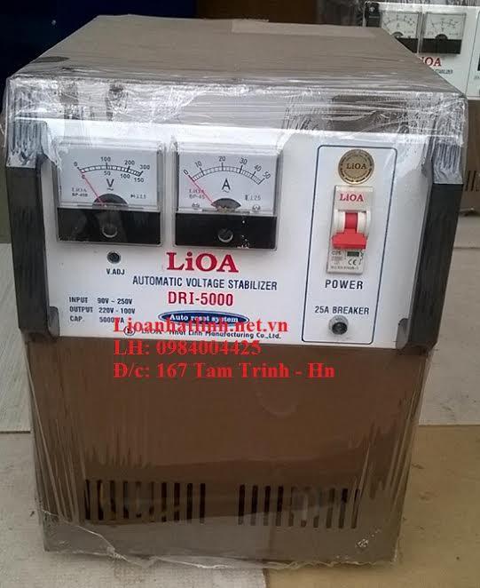 ỔN ÁP LIOA DRI - 5000 TỒN KHO