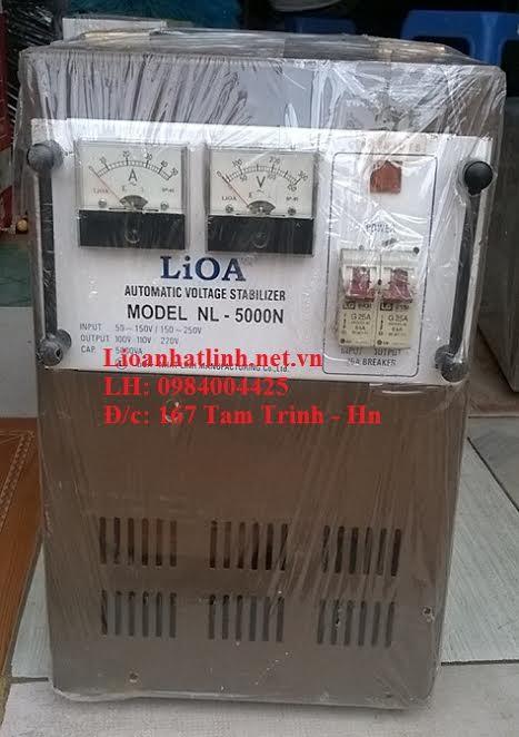LIOA 5KW CŨ DẢI 150V - 250V