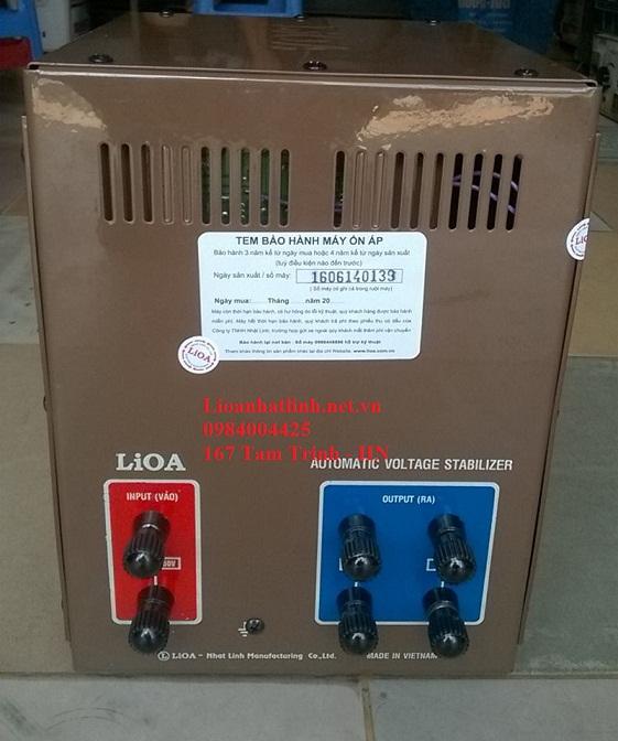 HÌNH ẢNH PHÍA SAU MÁY LIOA 5KVA MODEL SH - 5000