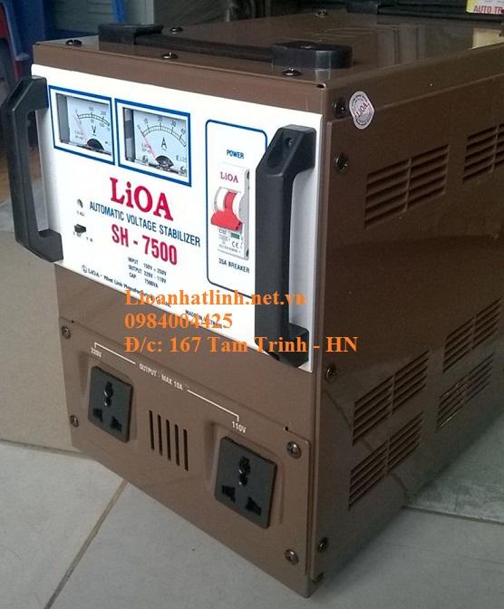 ỔN ÁP LIOA SH-7500 MỚI NHẤT 2016