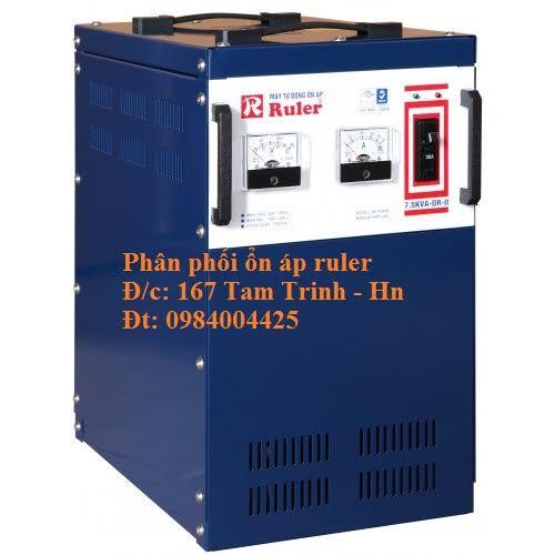 ỔN ÁP RULER 7 5KVA ( 40V - 250V)