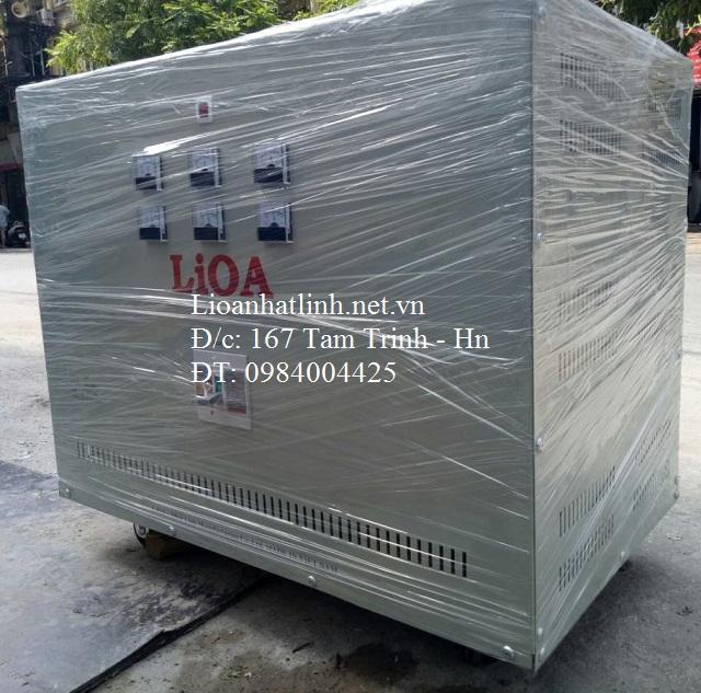 BIẾN ÁP LIOA 3 PHA 380V/200V - 100KW