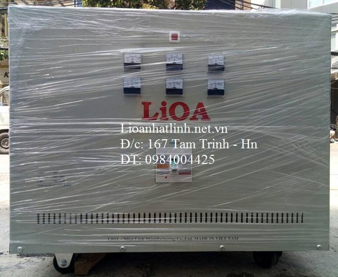 BIẾN ÁP LIOA 380V/220V/200V - 100KVA
