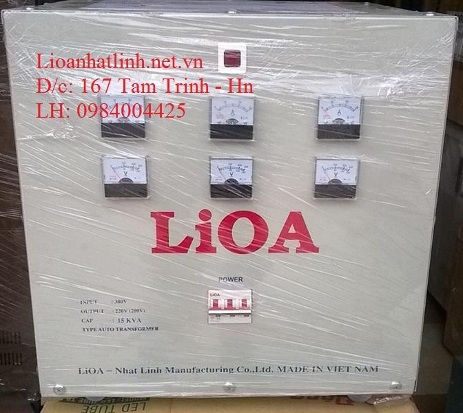 BIẾN ÁP LIOA 380V/220V 10KVA