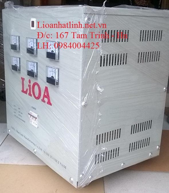 BIẾN ÁP LIOA 380V/200V 10KW