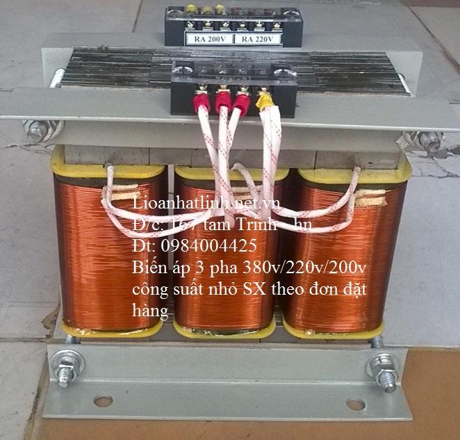 BIẾN ÁP 3 PHA 380V/220V 1KW